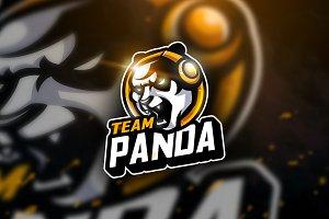 Panda Team - Mascot & Esport Logo
