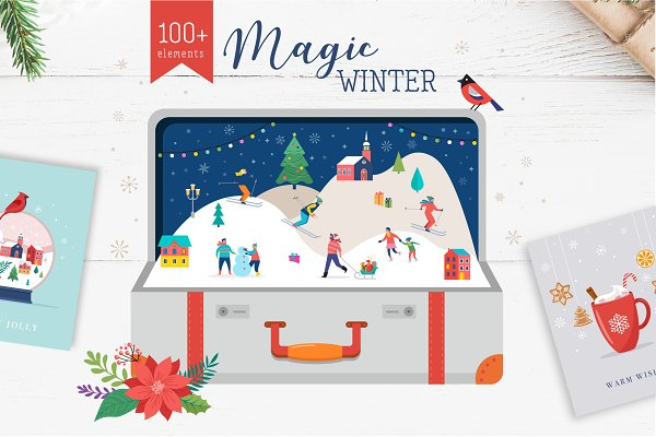 Magic Winter - Christmas scenes