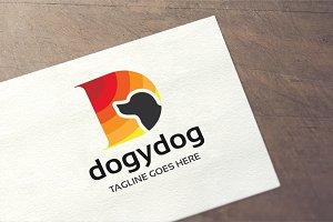 Letter D - Dogydog Logo