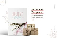 Holiday Gift Guide Template by  in Magazines