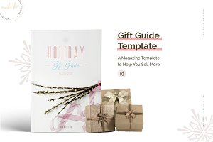 Holiday Gift Guide Template