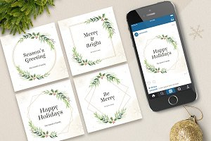Holiday Cards / Social Media Post