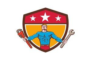 Superhero Handyman Spanner Wrench Sh