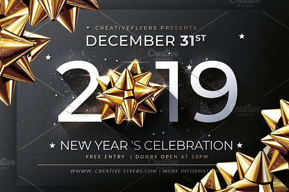 new year invitation template invitations