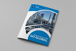Foldpro - A4 Bifold Brochure