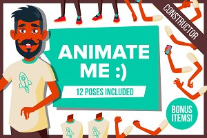 Indian Teen Guy Animation Character