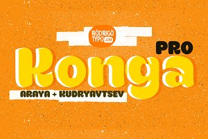 Konga Pro+Cyrillic