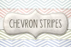 Vintage Chevron Stripes Pattern Pack