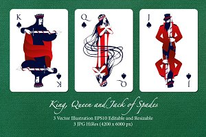 Deck's Figures: Spades