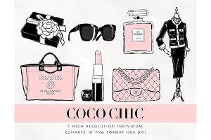 Chanel Fashion Cliparts