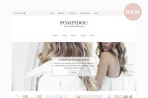 Pompidou Premium WordPress Theme