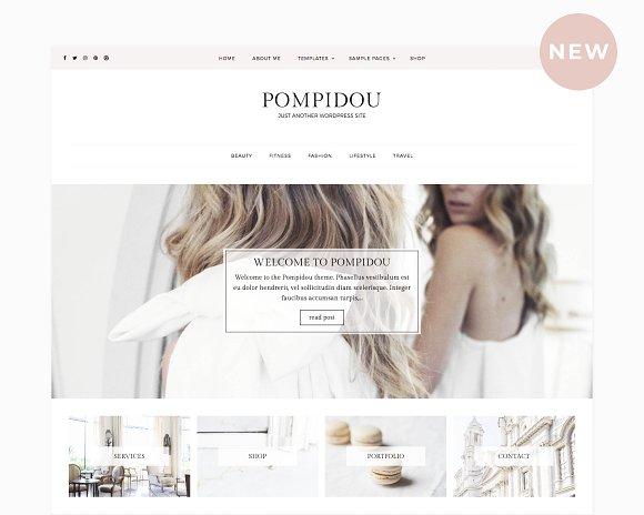 Pompidou Premium WordPress Theme