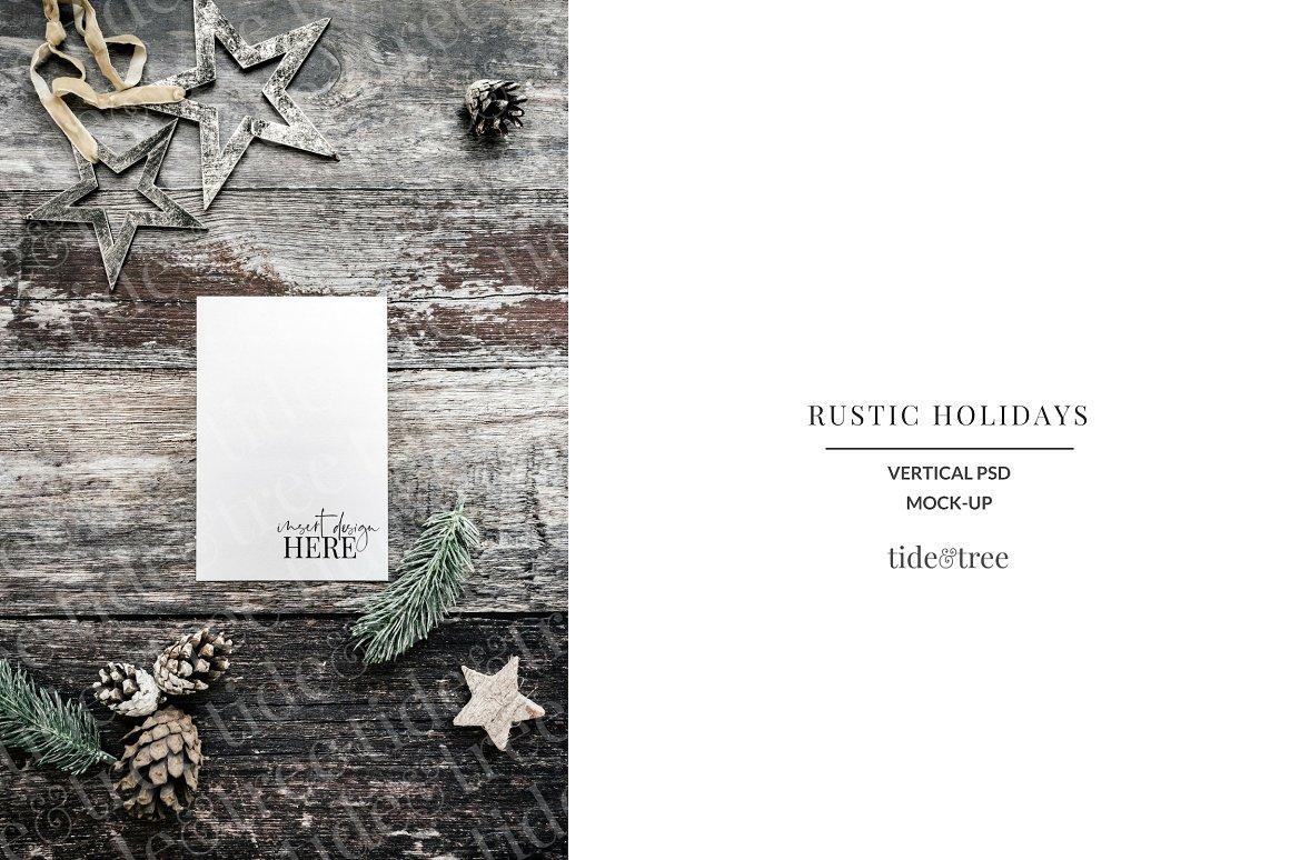 Rustic Holidays | Vertical No 6