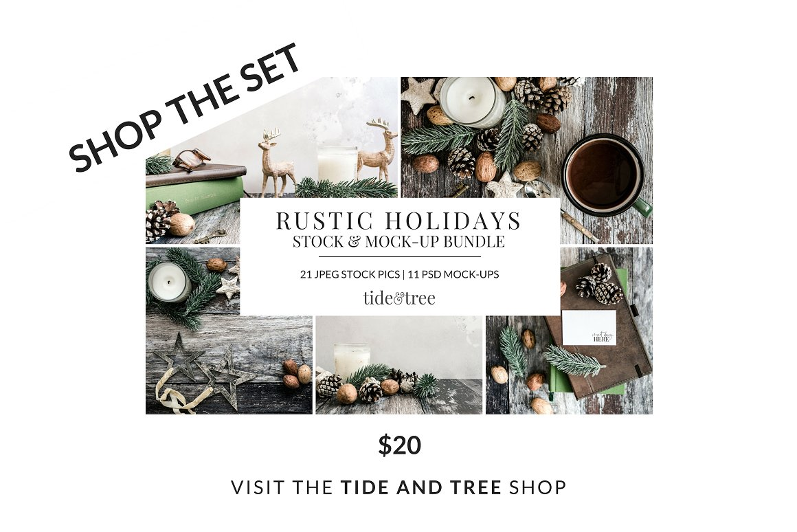 Rustic Holidays | Vertical No 1
