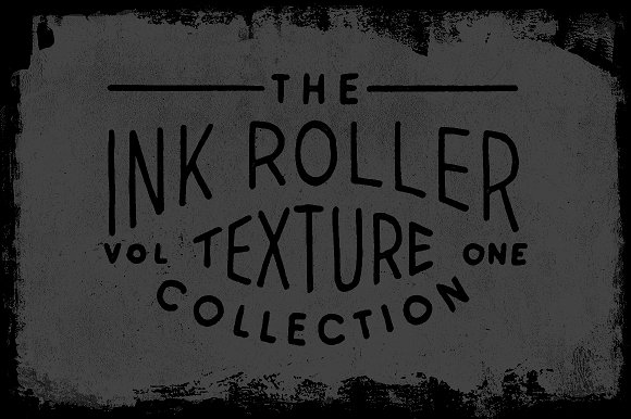 Ink Roller Texture Collection VOL. 1 - Brushes