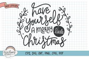 A Merry Little Christmas SVG