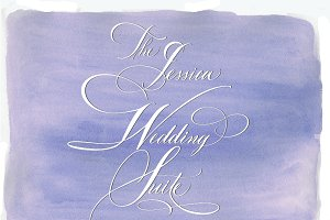 Wedding Suite Clipart Calligraphy