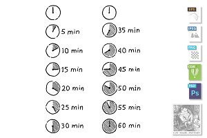 Timer Infographic Icon
