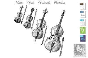 Bowed string instruments