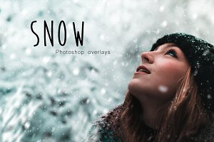 SNOW - Photoshop Overlay