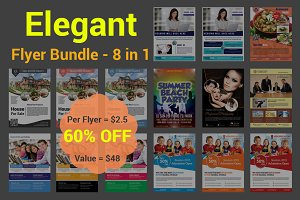 Elegant Flyer Bundle - 8 in 1