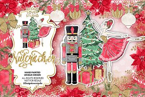 Nutcracker red design