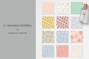 21 seamless patterns