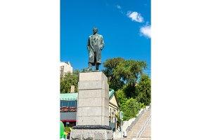 Monument of Maxim Gorky in Rostov-on
