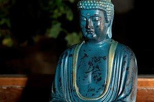 Buddha marble statue