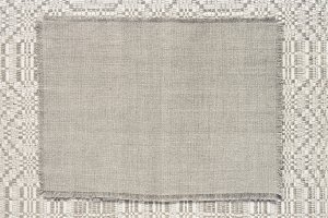 background linen fabric with a pattern of weaving toning