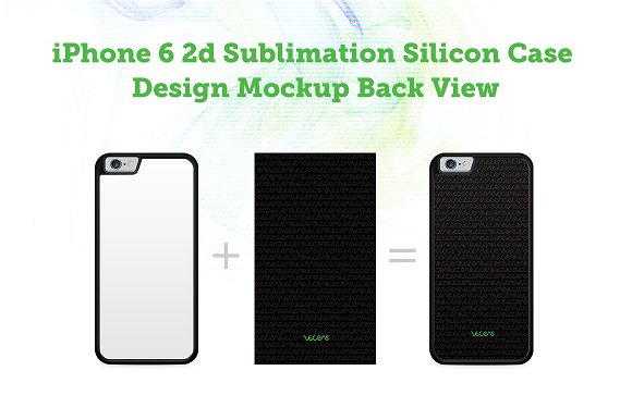 Download iPhone 6 2d Silicon Case Mock-up - FREE Facebook PSD Post
