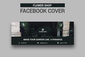Flower Shop Facebook Cover - SK
