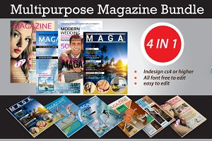 BUNDLE MULTIPURPOSE MAGAZINE  VOL. 1