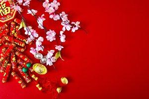 chinese new year 2019 background