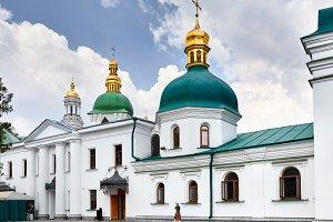 Tourist in Kiev Pechersk Lavra