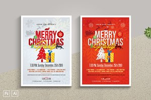 Christmas Party Flyer / Poster