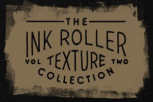 Ink Roller Texture Collection VOL. 2