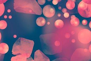 beads and petals seamless | JPEG
