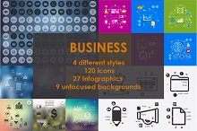 SUPERSET of BUSINESS icons. 50% OFF!