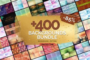 +400 Backgrounds Bundle