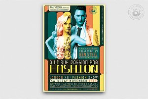 Fashion Show Flyer Template V1