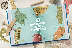 Illustration maps // part 4