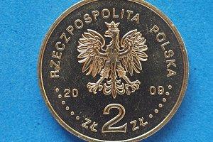 2 Zloty coin, Poland