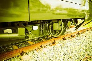 A train vintage retro