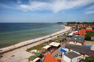 Resort Town of Hel in Poland