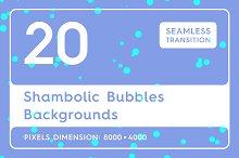 20 Shambolic Bubbles Backgrounds
