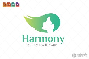 Beauty Dermatology Logo Template 8