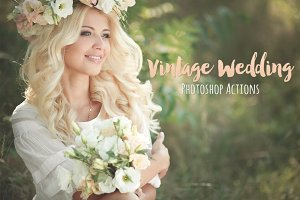 Vintage Wedding Photoshop Actions