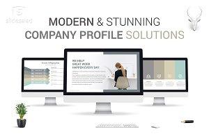 Modern Company Profile PowerPoint