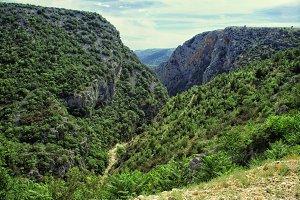 Scenic mountain landscape.
